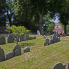 Picture - Copp's Hill Burying Ground in Boston, MA is just north of Old North Church.