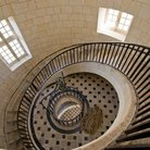 Picture - Stairwell of the Cordouan Lighthouse.
