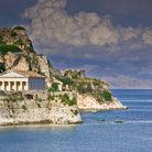 Picture - Hellenic Temple on Corfu.