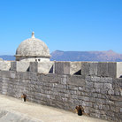 Picture - View of the new citadel at Corfu.