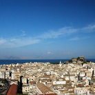 Picture - View from the New Fort at Corfu.