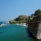 Picture - Old fortress at Corfu.