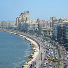 Picture - The corniche of Alexandria.