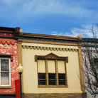 Picture - Architectural detail of historic buildings in downtown Corydon.