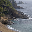 Picture - Beach at Blanes.