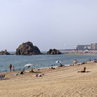 Picture - Sa Palometa beach in Blanes.