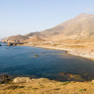 Picture - The coast at Almeria.