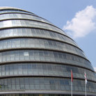 Picture - The County Hall building in London.