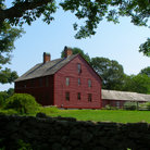 Picture - Grounds and buildings of the Nathan Hale Homestead.