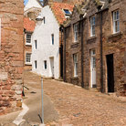 Picture - Cobble stone street in Crail.