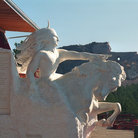 Picture - Sunlight on Crazy Horse Monument.