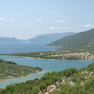 Picture - Panoramic view of the village of Cres.