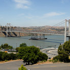 Picture - Carquinez Bridge from Crockett.