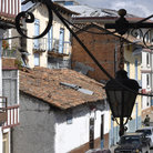 Picture - An typical street in the old town of Cuenca.