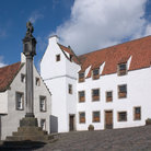 Picture - A square in Culross.
