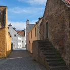 Picture - Ancient street in Culross.