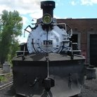 Picture - Engine 487 of the Cumbres and Toltec Railroad after repair at Chama.