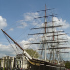 Picture - Tall ship Cutty Sark in Greenwich.