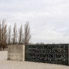 Picture - Monument at the Dachau Concentration Camp.