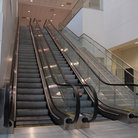 Picture - Escalators in the Dallas/Fort Worth International Airport, Texas.