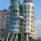 Picture - The Dancing House in Prague.