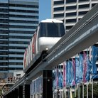 Picture - Mono Rail train in Sydney.