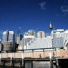 Picture - View of Darling Harbour in Sydney.