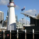 Picture - Lighthouse at Darling Harbour in Sydney.