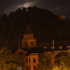 Picture - Deadwood at night.