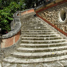 Picture - Staircase at the Deering Estate at Cutler.