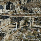 Picture - Overview of the ruins at Delos.