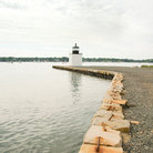 Picture - The waterfront at the Derby Wharf in Salem.
