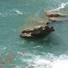 Picture - Rocks at Desoto Falls in Fort Payne.