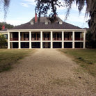 Picture - Plantation home built in 1787, Destrehan Plantation.
