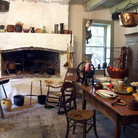 Picture - Kitchen in Destrehan Plantation.