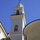 Picture - Church tower in Diano Marina.