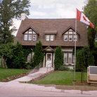 Picture - Exterior of Diefenbaker House, Prince Albert, SK.