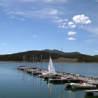 Picture - Boats at a dock on Lake Dillon.