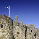 Picture - Wall of the Dirleton Castle.