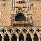 Picture - Detail of Doges Palace in Venice.