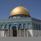 Picture - Golden Dome of the Rock in Jerusalem.