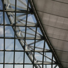 Picture - Glass architecture of Bangkok's International Airport.