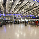 Picture - Inside the Bangkok International Airport.