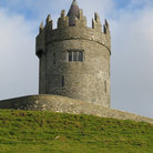 Picture - Tower of the Doonagore Castle near the Doolin.