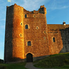 Picture - Late afternoon at Doune Castle.