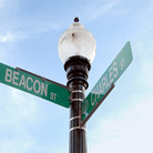 Picture - Charles Street and Beacon Street signs in Boston.