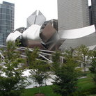 Picture - Concert hall in Millennium Park, Chicago.