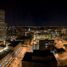 Picture - Downtown Denver at night.