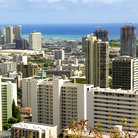 Picture - Downtown Honolulu.