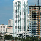 Picture - Condos in downtown Miami.
